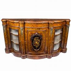 credenza for sale antique burr walnut serpentine credenza circa