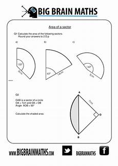 geometry worksheets area of sectors 843 areas circumferences of circles sectors arcs by busybob25 teaching resources tes