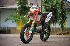 Thunder Modif Trail by Motor Terong Suzuki Thunder 125 Modifikasi Aliran Trail