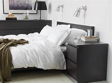 ikea malm 2 drawer chest black brown in 2019 home