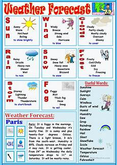 weather worksheets esl adults 14493 weather forecast worksheet free esl printable worksheets made by teachers