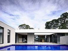 haus in l form l shaped modern house in melbourne by inform design