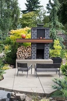 Kamin Im Garten - gartenkamin selber bauen mit modernem design