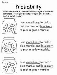 17 best teaching math probability images on kindergarten math math activities