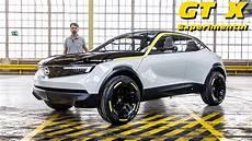 Opel Gt X Experimental 224 Bord Du Suv Urbain 233 Lectrique