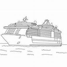 cruise ship coloring pages hellokids
