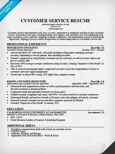 customer service resume sle resume companion