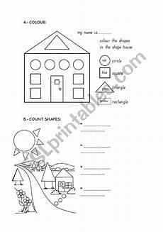 shape worksheet esl 1342 shapes esl worksheet by evalaorden