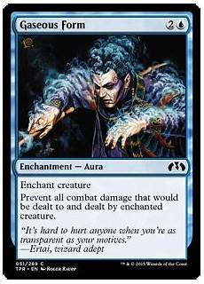 gaseous form gaseous form tempest remastered gatherer magic the gathering