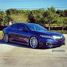 2015 tlx fathom blue on 20 quot vossen cvt wheels acurazine