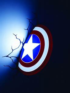 feb158228 marvel captain america shield 3d light previews world