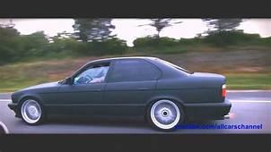 Low BMW E34  YouTube