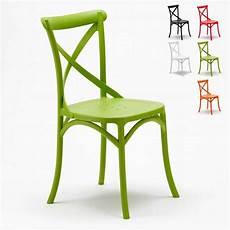 chaises cuisine design 91893 chaise en polypropyl 232 ne de cuisine restaurant vintage paysan cross design