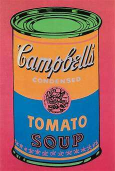 Soup Can Tomato Colored Large By Andy Warhol Print