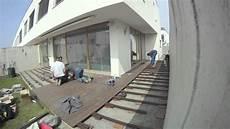 Terrassenbau Mit Wpc Zeitraffer
