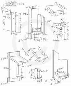 tree swallow house plans swallow birdhouse plans 70birds birdhouse plans index