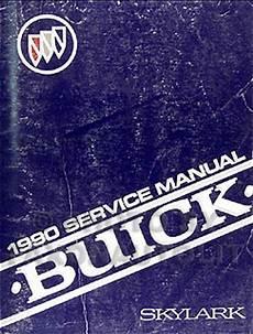 best car repair manuals 1990 buick century on board diagnostic system 1990 buick skylark repair shop manual original