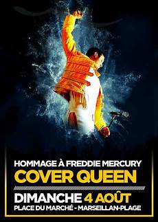 Concert Hommage 224 Freddie Mercury Cover