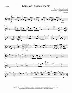 download game of thrones theme string orchestra sheet