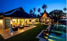 three spectacular thai villas villa 4373 in maenam koh samui thailand villagetaways