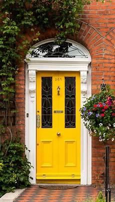 golden yellow door in dublin ireland photo doors yellow doors yellow front doors