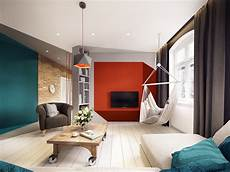 a stunning apartment with colorful geometric a stunning apartment with colorful geometric design
