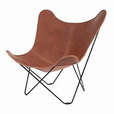 sessel mariposa pa mariposa butterfly chair cuero ambientedirect