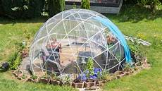 garten iglu selber bauen garden igloo hispotion
