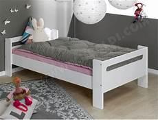 lit enfant sofamo blanc lit bas 90x190 pas cher