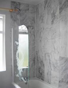 Badezimmer Wandverkleidung Kunststoff - pvc bathroom cladding grey marble tile enviroclad