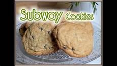 Subway Cookies Selber Machen Kekse Backen Backtutorial