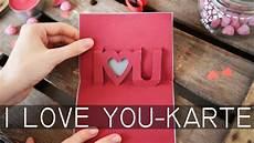 diy 3d karte valentinstag