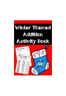winter worksheets ks1 20027 winter themed addition activity book for eyfs ks1 teaching resources