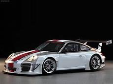2010 White Porsche 911 Gt3 R Wallpapers