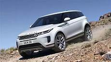 land rover unveils the new tech laden range rover evoque suv
