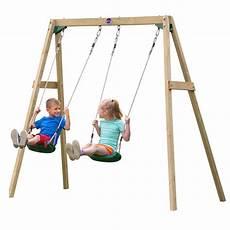 kid swing set plum kid s wooden playground swing set buy swings