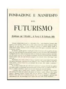 manifesto futurismo testo il libero libro futurista i supporti lo stile la forma