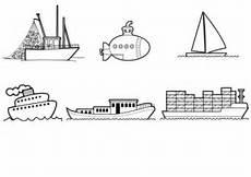 Ausmalbilder Zum Ausdrucken Kostenlos Boote Kostenlose Malvorlage Transportmittel Schiffe Und Boote