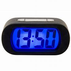 Alarm Clock Digital Snooze Touch by Karlsson Soft Touch Digital Display Gummy Alarm Clock With
