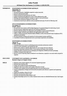 20 civil engineering intern resume in 2020 engineering resume resume sles resume exles
