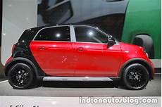Smart Forfour Crosstown Edition Side At Iaa 2017