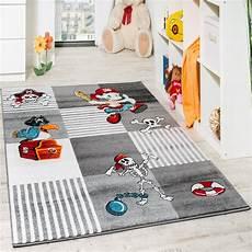 Teppich Für Kinderzimmer - kinder teppich pirat mit papagei schatzkiste kinderzimmer