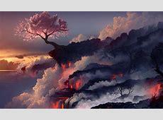 Weird Wallpaper Center: Volcano Wallpaper   Explosion