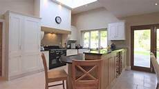 wimborne white kitchen with character oak panels