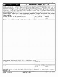 va form 21 4138 aug 2004 united states code social