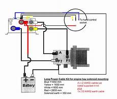 warn winch solenoid diagram top electrical wiring diagram