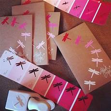 paint chip greeting card decor paint sle crafts popsugar smart living photo 31