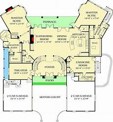 house plans with dual master suites dual master suites 17647lv architectural designs