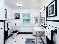 Black And White Tile Ideas For Bathrooms