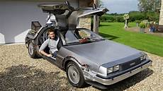 great man owns real life back to the future delorean youtube